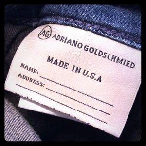 AG jeans The Zip Skinny sz 30R